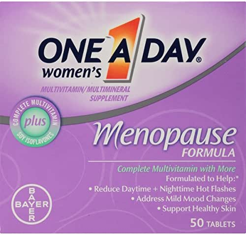 One A Day Women's Menopause formula Multivitamin, 50-tablet Bottle