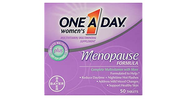 One-A-Day Womens Menopause Formula Multivitamin, 50-tablet Bottle: Amazon.es: Salud y cuidado personal
