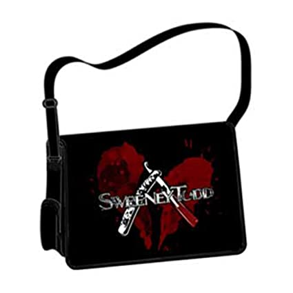 f1703e7dfa9a5 Amazon.com: Sweeney Todd Messenger Bag: Sports & Outdoors