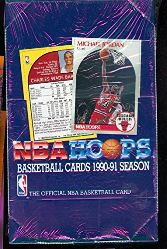 1990-91 Hoops Basketball Wax Pack Box Series 1 One NBA Card Set 1991 CASE FRESH ()