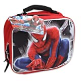 Spiderman Molded 3d Pop-up Lunch Bag 9in