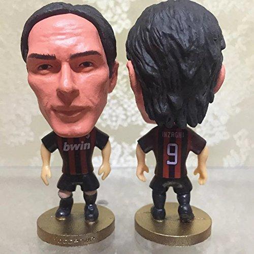 AC Milan Inzaghi #9 Toy Figure 2.5
