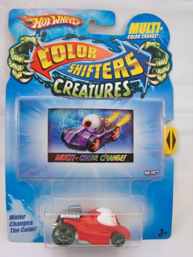 Hot Wheels Color Shifters Creatures 1:64 Car: Evil Eye Version 2 (Color Changing Cars Hotwheels compare prices)