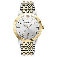 Bulova Men's Classic Two Tone Watch