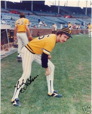 Photo 8x10 Autographed Ed - Ed Whitson Pittsburgh Pirates Signed 8x10 Photo W/coa - Autographed MLB Photos