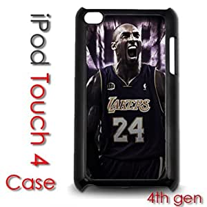 IPod Touch 4 4th gen Touch Plastic Case - Kobe Bryant Lakers 24 Champs