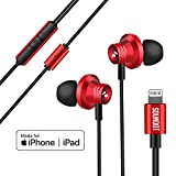 Blackloud Soundot AF1 DSP FM Headset with Mic for iOS Device with 6 Bands of EQ, 3D Sound Effects, FM Receiver, Dynamic Dual Driver Earbuds, Siri Multifunction Button, w/App for iPhone & ipad