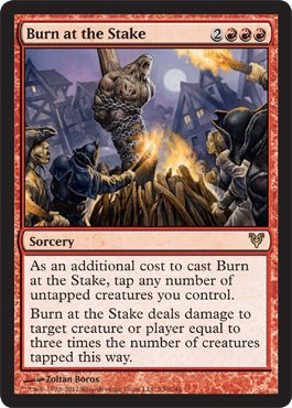 Magic: the Gathering - Burn at the Stake (130) - Avacyn Restored