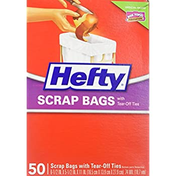 Amazon Com Hefty Scrap Bag Refills 100 Bags Health