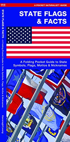 (State Flags & Facts: A Folding Pocket Guide to State Flags, Symbols, Mottos & Nicknames (Earth, Space and Culture))