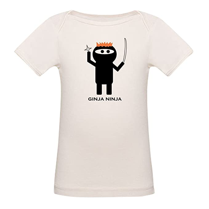 Amazon.com: CafePress - Ginja Ninja 1.PNG - Organic Cotton ...