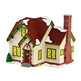 Department 56 A Christmas Story ''Miss Shields' House'' Lighted Building #4028281