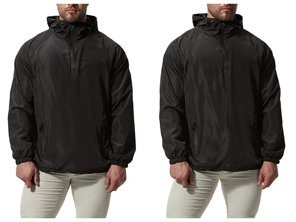 WEEN CHARM Mens Windproof Cycling Running Jacket Softshell Jacket