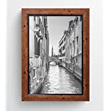 A4 Certificate Sienna Distressed Rustic Wood Effect Traditional Photo Frame With Glass by Photo Frames And Art 2 u