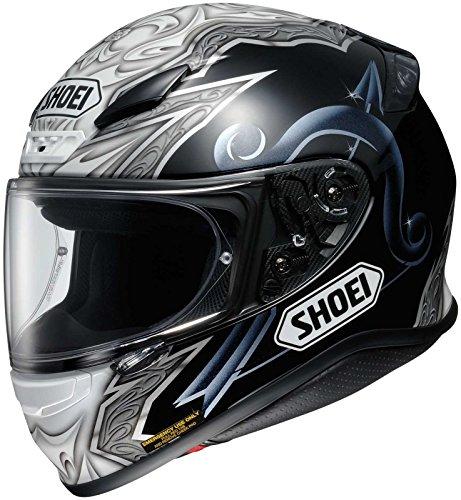 Shoei Diabolic RF-1200 Street Bike Racing Motorcycle Helmet - TC-5 / Large - Street Bike Racing Motorcycle