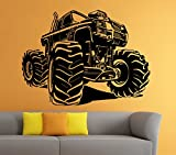 Best Wheel Of Fortune PCs - Monster Truck Wall Decal Vinyl Sticker Big Car Review