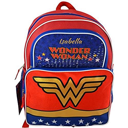 (Personalized Superhero Backpacks (Wonder Woman))