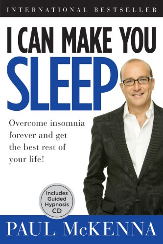 I Can Make You Sleep: Overcome Insomnia Forever and Get the Best Rest of Your Life!  Book and (Best Sterling Mp3 Players)