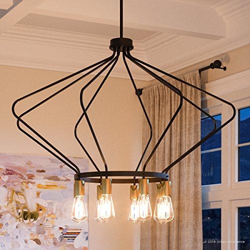 Luxury Mid Century Modern Chandelier Large Size 24 875 H X