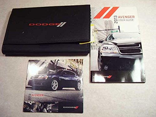 2013 Dodge Avenger Owners Manual