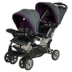 The Sit N Stand is perfect for your growing family for many years from infant to toddler to growing child. One child can ride up front, and one can be behind, sleep, sit or stand! The Sit N Stand Double Stroller allows one child up front, and...