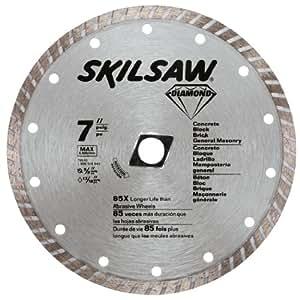 Skil 79510 7 inch turbo rim diamond saw blade with 58 inch or diamond blades greentooth Images