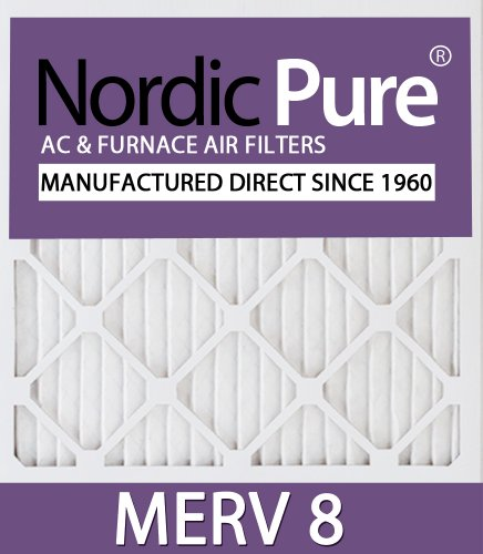 16x19x1 MERV 8 AC Furnace Filters Qty 6