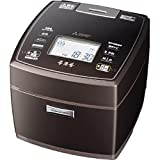 Mitsubishi Electric IH jar rice cooker this Sumigama 5.5 Go cook premium Brown NJ-VW107-T