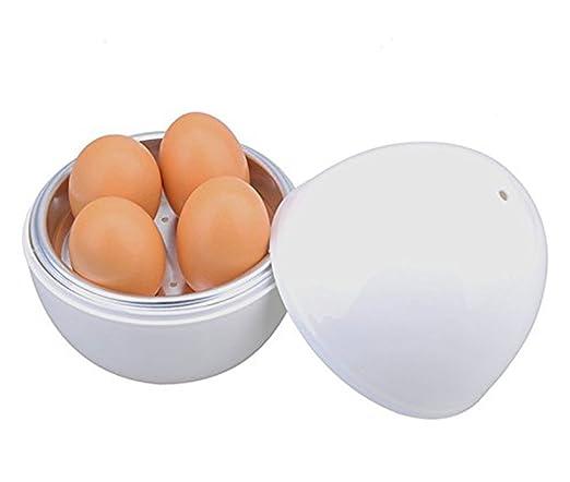 hamosky escalfador de huevos para microondas y placa de ...