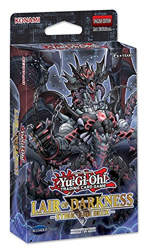 Amazon.com: Yugioh 2018 Structure Deck Lair of Darkness   43 cards