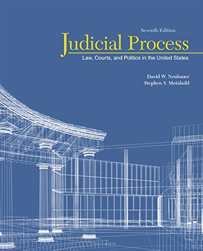 Judicial Process: Law, Courts, and Politics in the United States (Judicial System)