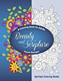Beauty and Scripture:  A Coloring Book for Adults