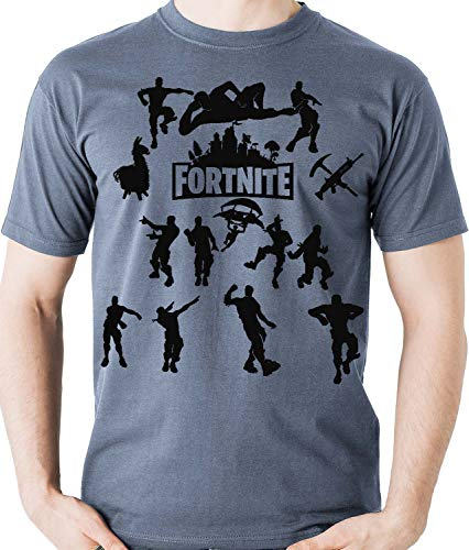 Camiseta Dança Fortnite Game Dance