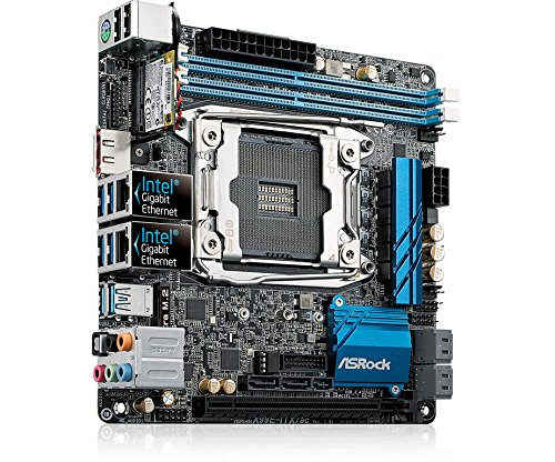 ASRock Mini ITX DDR4 Motherboards X99E-ITX/AC by ASRock (Image #2)