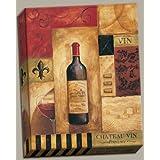 Canvas Chateau Vin - Sign Alcohol Drink Classic Vino Wine Tuscan Popular Italian Modern Art 8x10