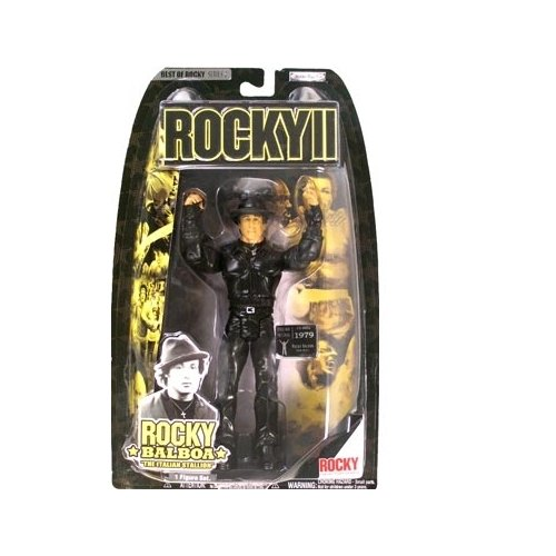 Best Of Rocky Series 2 Rocky Balboa Tiger Jacket Action Figure