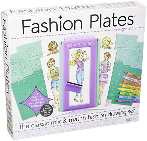 Kahootz Fashion Plates - Fashion Drawing Set ()