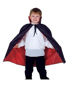 CHILD/'S RED SUPERHERO CAPE BOYS FANCY DRESS COSTUME ACCESSORY HALLOWEEN VAMPIRE