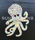 Octopus, White, Rainbow, Glass, Glitter, Light, Mirror, Copper, Sparkle, Shimmer, Reflect, Sun, Shine, Sunshiners, Suncatchers, Hang, Spin