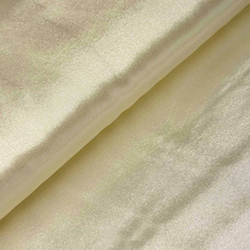 Runner Ivory Roll Custom (BalsaCircle 54-Inch x 10 yards Ivory Satin Fabric the Bolt - Wedding Party Decorations Sewing DIY Crafts Costumes)