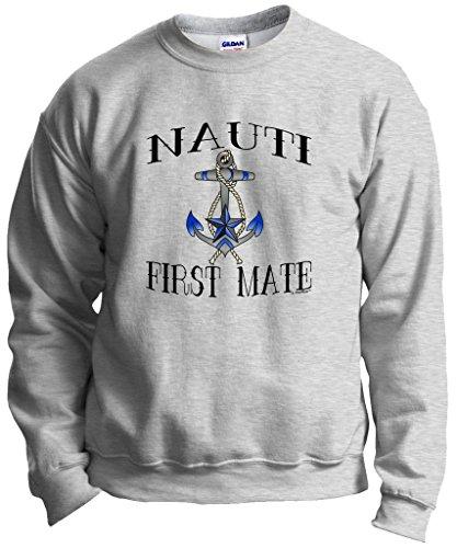 Nauti Nautical Boating Crewneck Sweatshirt
