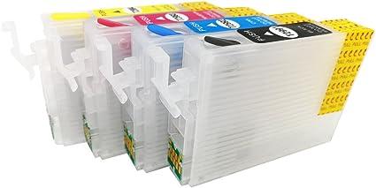 Hemei@ - Cartucho de tinta vacío recargable 29XL para XP-235 XP ...