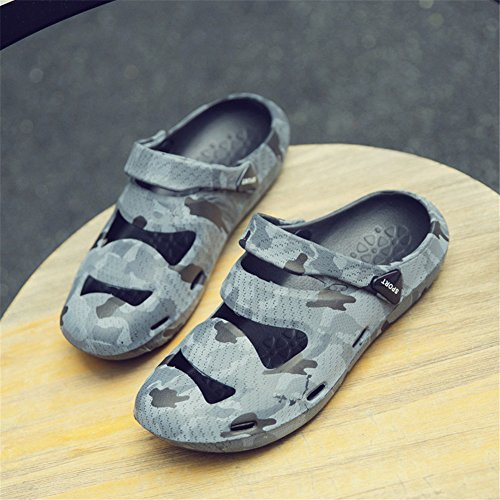 Grey Beach Shoes Outdoor House Sandals Women's TORISKY Clogs Water Men's Slippers wBqx4n6v
