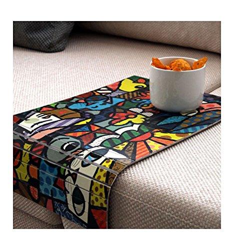 Sofa tray, sofa table, arm table,couch tray, mdf tray,wood tray,art, art wood