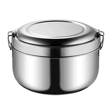 f5447861742e Buy BESTONZON 850ML Stainless Steel Lunch Box with Double Layers ...