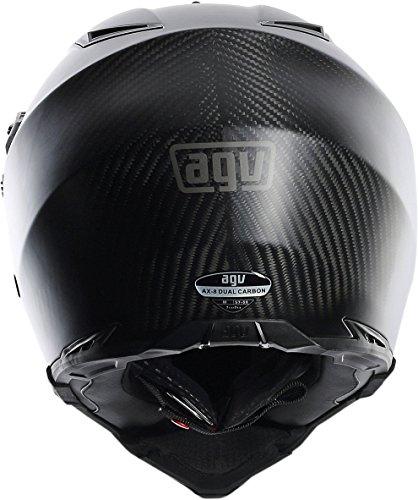 AGV AX-8 Dual Sport Evo Helmet (Matte Carbon, XXX-Large) by AGV (Image #5)