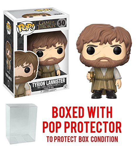 Funko Pop! Game of Thrones: GOT - Tyrion Lannister #50 Vinyl Figure (Bundled with Pop BOX PROTECTOR CASE)