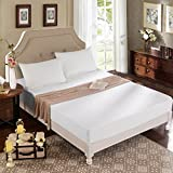 Dream Signature Collection Organic Smooth Cotton Mattress Protector, King