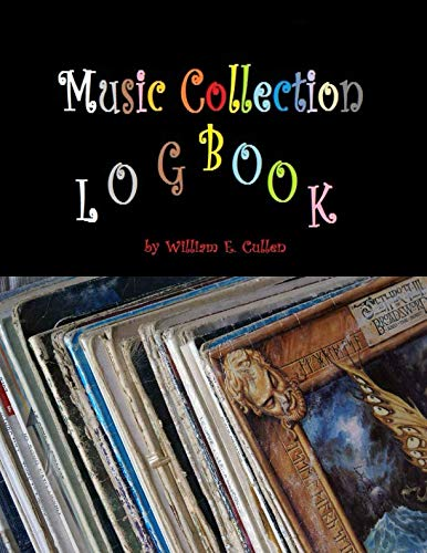Music Collection Logbook: Music  Formats DVD CD LP Single ()
