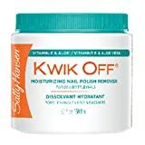 (6 Pack) SALLY HANSEN Kwik Off Moisturizing Nail Color Remover Moisturizing Nail